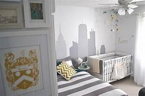 Chambre Enfant Moderne : id es pour la d coration de la petite chambre de b b ~ Teatrodelosmanantiales.com Idées de Décoration