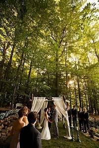 sarah and zac39s 7000 backyard wedding intimate With small wedding ceremony ideas