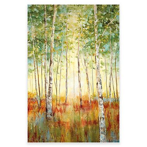 Birch Tree Canvas Wall Art Bed Bath Beyond Watermelon Wallpaper Rainbow Find Free HD for Desktop [freshlhys.tk]