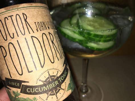 gin tonic mit gurke doctor polidori s cucumber tonic im gin tonic test