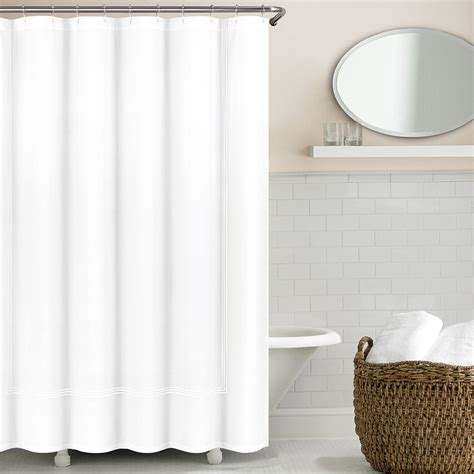 3 line hotel collection shower curtains echelonhome