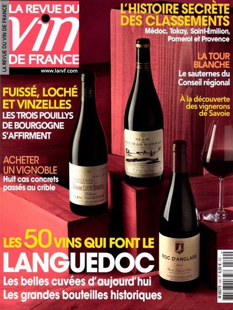 abonnement cuisine et vins de abonnement la revue du vin de toutabo belgique
