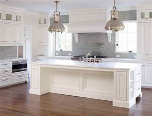 white gray glaze kitchen island with gray marble counter With kitchen cabinet trends 2018 combined with personalized stickers for kids
