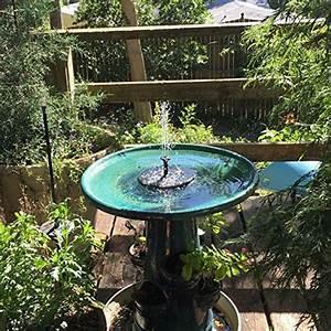Springbrunnen Für Teich : ankway solar springbrunnen verbesserte solarbrunnen mit 1 4w monokristalline solar panel solar ~ Eleganceandgraceweddings.com Haus und Dekorationen