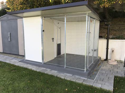 box auto per cani box per cani singoli con zona notte inrete e coibentazione