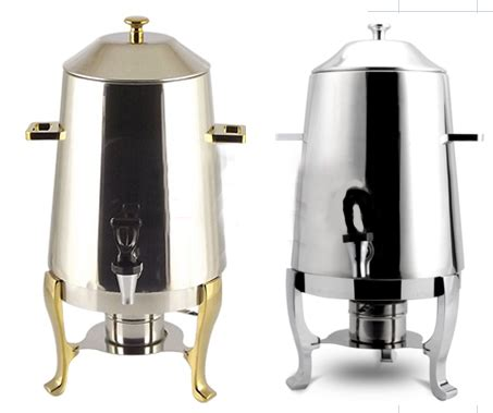 Push a button or program a timer and you can have a delicious cup of coffee made for you. Aliexpress.com : Buy Stainless steel coffee tripod Juice tripod milk bucket buffet drink ...