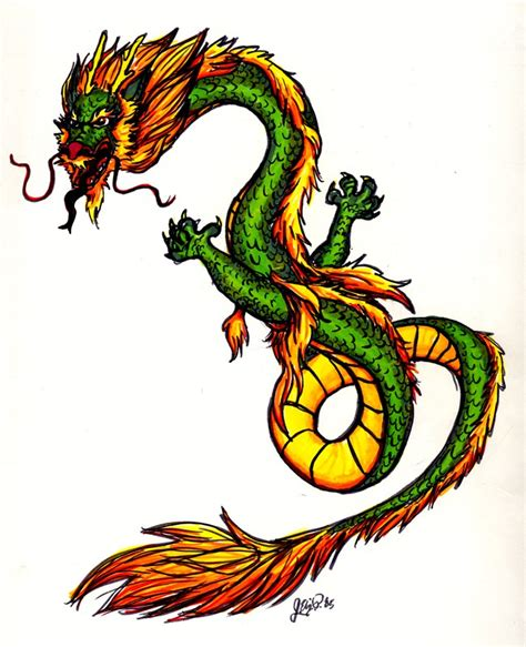 colors of dragons angry green and yellow design by