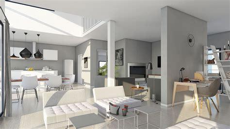 plan maison moderne maison moderne