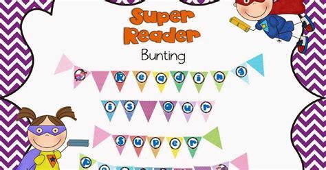 Super Reader Buntings