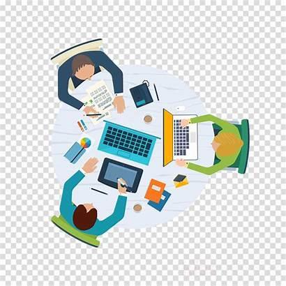 Project Management Clipart Technology Vendor Concetti Illustrazione