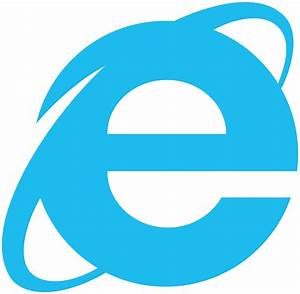 Image Gallery internet explorer logo rainbow
