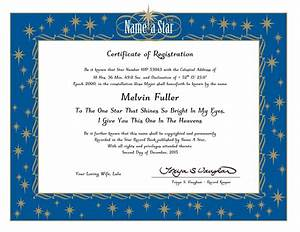 name a star certificate template portablegasgrillwebercom With star naming certificate template