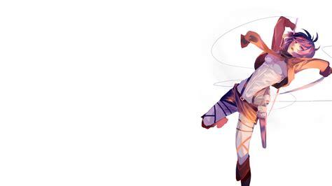 anime keren sport shingeki no kyojin boots mikasa ackerman pekerika pink