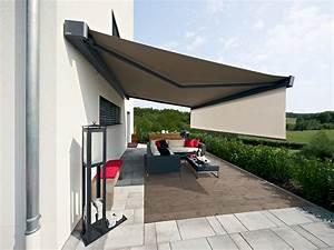 Balkon Markise Elektrisch : sonnenschutz f r balkon und terrasse metallbau hunold olpe ~ Lizthompson.info Haus und Dekorationen