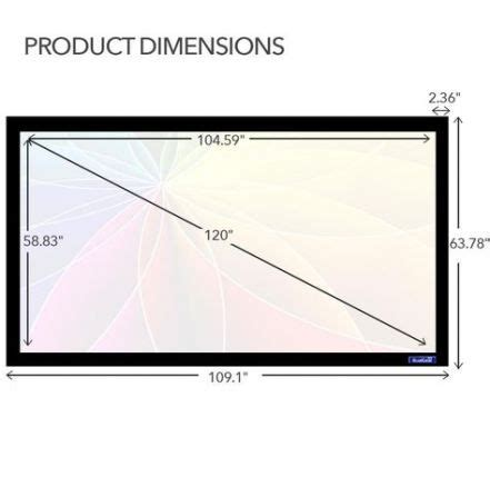 projector screen frame silver ideas projector screen