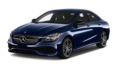 2018 Mercedes-benz Cla 250 4matic® Coupe Lease Special