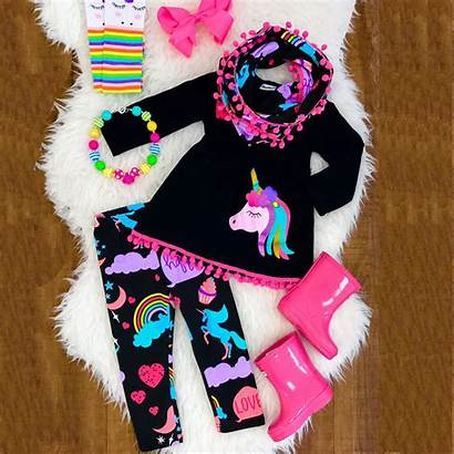 Clothes Unicorn Cartoon Clothing Pants 7y Emmababy