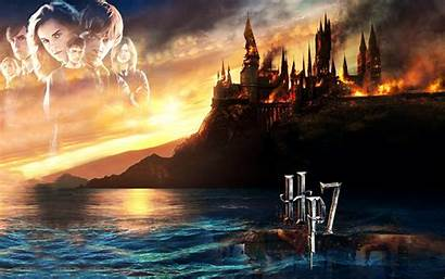 Potter Harry Deathly Hallows Wallpapers Disney Android
