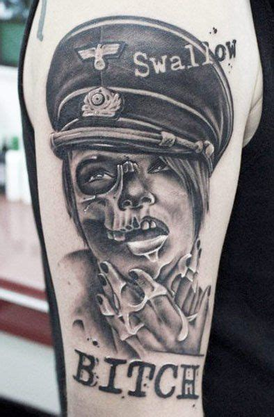 Hmm What Does A Nazi Tattoo Need? Oh Right Misogyny