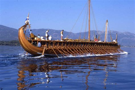 Navi Persiane by Olympias A Working Model Of The Ancient Trireme Is