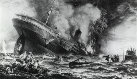 When Did The Sinking Of Lusitania Happen by Lusitania Sinking Of A Ship