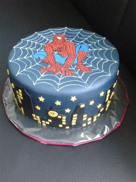 spiderman torte geburtstag torte geburtstag backen