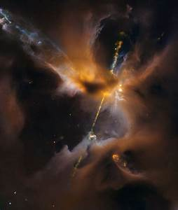 "Real life ""Star Wars""? Hubble spots ""lightsaber"" in space ..."