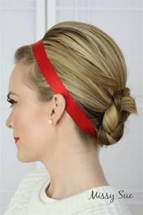 braid  ribbon wrapped braided bun hair tutorials
