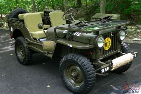 wwii jeep for sale 1952 willys m38 jeep korean war army military vehicle