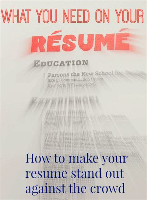 What Should Not Be In Your Resume by Resume Tips Craresources