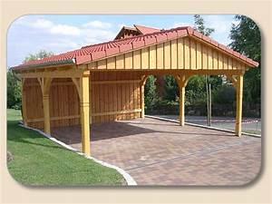 Carport Aus Holz : satteldach carport aus holz mit bauplan ~ Orissabook.com Haus und Dekorationen