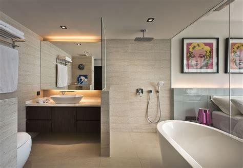 Bathrooms Ideas by Open Concept Bathroom Ideas Squarerooms