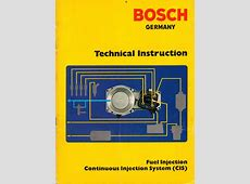 Bosch fuel injection technical manuals Motronic, L