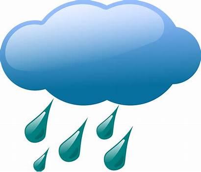 Clipart Rain Icon Weather Transparent Symbols Inclement