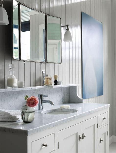 Folding Mirror  Cottage  Bathroom Kvanum