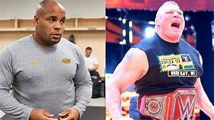 U0026 39 Smaller U0026 39  Brock Lesnar Is Steroid Free  He Passed Daniel Cormier Eye Test   U2013 Middleeasy Com