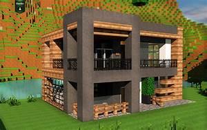 maison moderne minecraft wwwpixsharkcom images With plan des maisons modernes