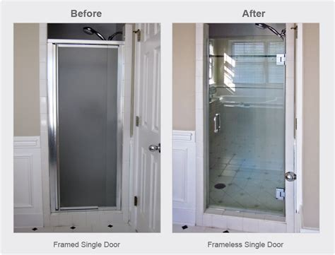 Shower Door For Shower Stall by Single Shower Door Replacement For Walk In Shower
