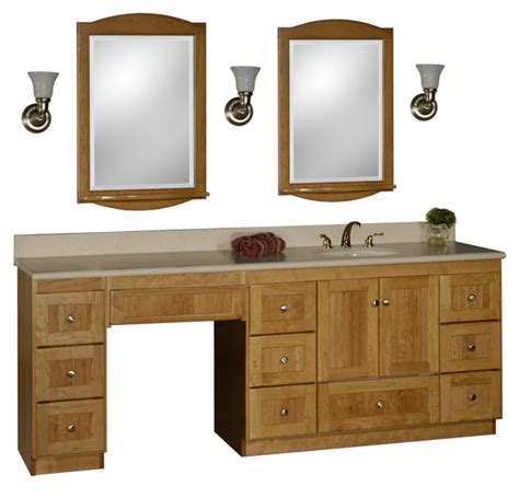 Bathroom Vanities With Matching Makeup Area by Bathroom Vanity With Makeup Vanity Attached Choice Of