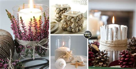 Decorazioni candele fai da te! 20 idee creative