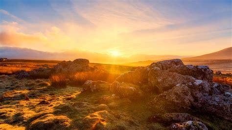 yorkshire dales golden hour  photo  pixabay