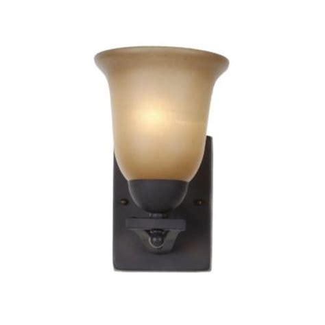 Home Depot Wall Light Sconce by Commercial Electric 1 Light Rustic Iron Wall Sconce