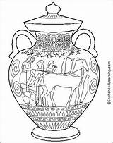 Pottery Coloring Unknown Pm Posted sketch template