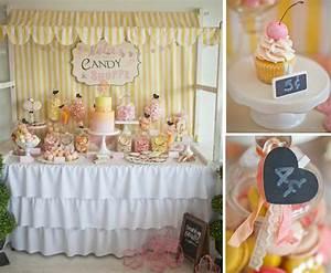 Kara's Party Ideas Vintage Candy Sweet Shoppe Girl 6th ...