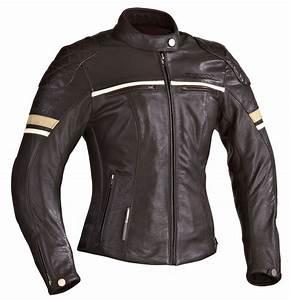 Blouson Moto Vintage Femme : blouson cuir femme ixon motors lady moto vintage homologu ce ~ Melissatoandfro.com Idées de Décoration