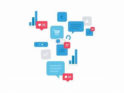 Social Ad Cloud Dribbble Animation Digital