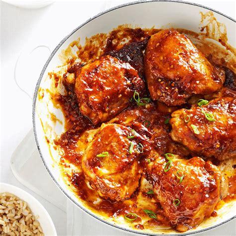 asian chicken thighs recipe taste  home