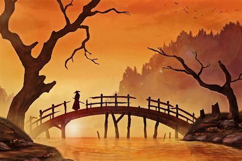 Asiatische Bilder Kunst by Japanese Kill Hatsumomo Prints
