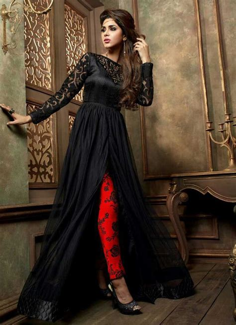beautiful black shalwar kameez designs  girls