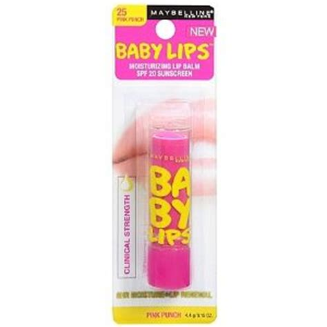 baby lips light pink maybelline baby lips lip balm in pink punch reviews